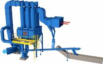 high efficiency cyclone dust collector max. 100 mg/Nm³ | CF Eco Instal