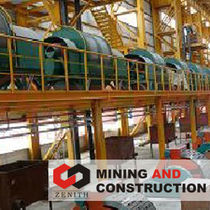 high intensity magnetic roll separator ZTLGT series Shanghai Zenith Mining and Construction Machinery