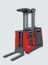 high lift vertical order picker with lifting forks max. 1 100 kg | V 11 Linde Material Handling