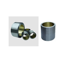 high performance plastic plain bearing 350 N/mm² Jiande Sinfine Powder Metallurgy Factory
