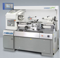 high precision conventional lathe 800 mm | Condor VCplus WEILER Werkzeugmaschinen