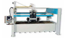 high rail gantry type water-jet cutting machine max. 7300 mm x 4300 mm (24' x 14') JET EDGE