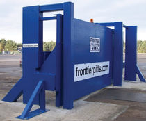 high security sliding gate max. 6 000 mm Frontier-Pitts