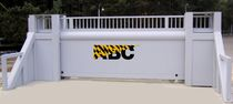 high security sliding gate PAS68 | Avon SG1500CR Avon Barrier Company