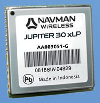 high sensitivity GPS receiver module Jupiter 30 xLP Navman Wireless