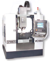 high speed 5-axis CNC vertical machining center max. 1 460 x 660 x 500 mm | VC-PerformanceLine Spinner