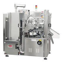 high-speed automatic tube filler and sealer max. 6 000 p/h, 2000 x 1510 x 2223 mm | B620 TGM - TECNOMACHINES srl