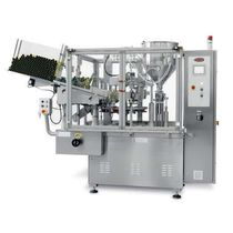 high-speed automatic tube filler and sealer max. 5 000 p/h, 1740 x 950 x 2230 mm | B600 TGM - TECNOMACHINES srl