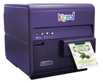 high speed inkjet color label printer 1200 x 1200 dpi, 2 - 8 ips (50 - 200 mm/s) | Kiaro QuickLabel Systems