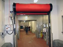 high speed roll-up door max. 3 048 x 3 658 mm | FasTrax Clean Rite Hite