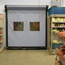 high speed roll-up door for special applications   Crawford Group