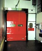 high speed roll-up door for the food industry  4000 x 4000 mm | MAVIROLL  MAVIFLEX