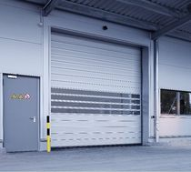 high speed spiral door 10 000 x 8 000 mm | EFA-SST&reg; EFAFLEX Tor- und Sicherheitssysteme GmbH &amp; Co. KG