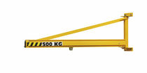 hollow section wall mounted slewing jib crane (overbraced) 50 - 2000 kg, 2 - 8 m | PMTC COMEGE