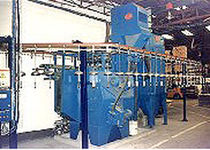 hook continuous shot blasting machine  Cym Materiales SA