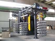 hook shot blasting machine with automatic cycle SANDERMATIC OMSG - OFFICINE MECCANICHE SAN GIORGIO SpA