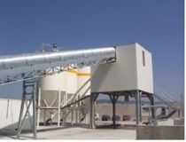 horizontal concrete mixing plant  Quadra Concrete