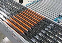 "horizontal conveyor diverter max. 60 p/min, 18"" - 32"" Autolotion"