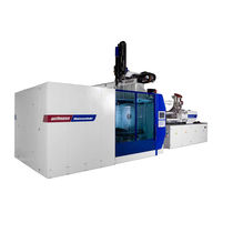 horizontal hydraulic injection molding machine, clamping force: 400 - 1 100 t | MacroPower Wittmann Battenfeld