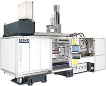 horizontal hydraulic injection molding machine for rubber applications 1 000 - 10 000 kN | DESMA series DESMA Elastomertechnik