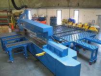 horizontal panel saw for non ferrous material  Metl-Saw Systems