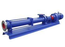 horizontal single screw pump max. 20 000 m3/h  Shanghai Pacific Pump Manufacture Co.,Ltd