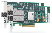 host bus adapter (HBA) card 1 - 2 port, 4 - 8 Gbps Brocade