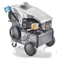 hot water high pressure washer 18 - 33 l/min, 150 - 275 bar | Gigante Idrobase