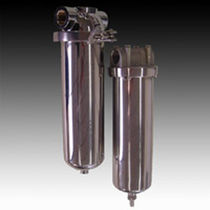 "housing for single cartridge filter 6"" - 40"" 