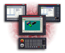 human machine interface for CNC system NUMpass HMI NUM