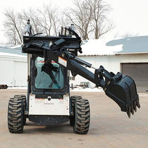 hydraulic backhoe for skid steer loader 630 lbs | Bob-Tach BOBCAT
