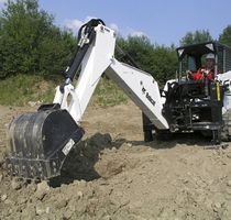 hydraulic backhoe for skid steer loader  BOBCAT