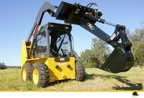hydraulic backhoe for skid steer loader  DIGGA
