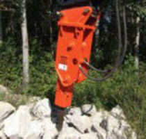 hydraulic breaker for small size loader  6.5 - 11 t | GH4 NPK Construction Equipment, Inc.