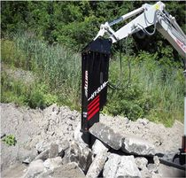 hydraulic breaker for backhoe loader 250 - 8 600 lbs | Hy-Ram&reg; Allied Construction Products, LLC