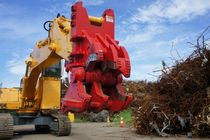 hydraulic demolition shears: scrap cutting shears 30 000 - 65 000 kg | RMS series A-WARD Attachments Ltd
