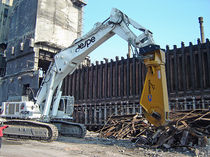 hydraulic demolition shears: scrap cutting shears GXP series GENESIS GmbH