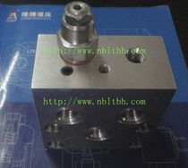 hydraulic drilled block  Ningbo Longteng Hydraulic Components Co.,Ltd.