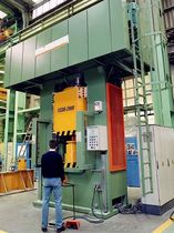 hydraulic forging press 2000 t | FSSM-2000 LOIRE SAFE
