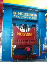 hydraulic hot forming press max. 3500 t | PO/2M/HF/3500 MOSSINI