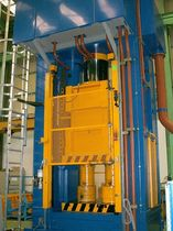 hydraulic hot forming press 1500 t  LOIRE SAFE