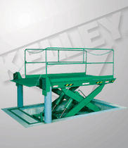 hydraulic lift table  SPX Dock Products - Kelley