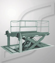 hydraulic lift table  SPX Dock Products - Serco