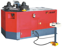 hydraulic plate bending machine with 3 rollers max. ø 63.5 mm | KM-JW series King-Mazon Machinery