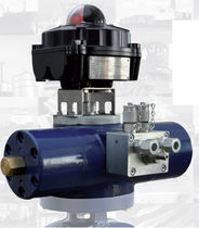 hydraulic rotary actuator max. 8 000 Nm, 90&deg; G&ouml;pfert AG