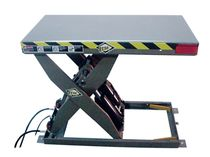 hydraulic scissor lift table 2 500 - 4 000 lb, 31'' - 68'' | HLTxHC series ECOA Industrial Products