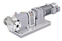 hygienic rotary lobe pump 0.1 - 400 m³/h, 1 - 10000 cp, 0.08 Mpa | TLS12 series Durrex pumps co.,ltd