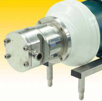 hygienic rotary lobe pump 0.5 - 9.2 gpm, max. 175 psi | AccuLobe™ Top Line Process Equipment Company