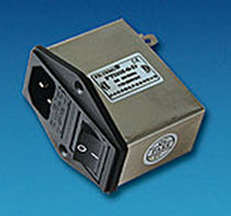IEC inlet EMI filter with switch control 1 - 10 A | FT110I-D series Filtemc Electronic Equipment Co., Ltd.