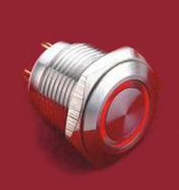 illuminated push-button switch Ø16mm | R series  EOZ